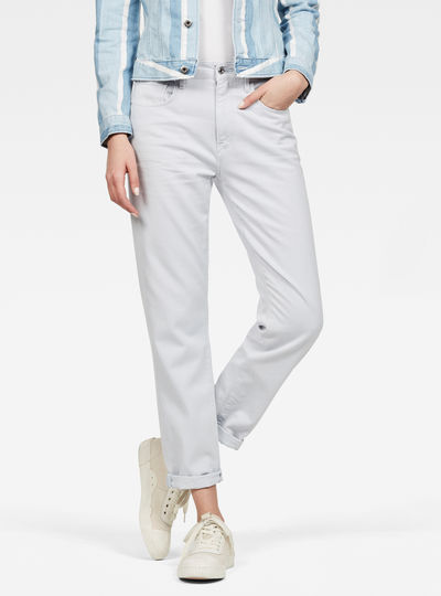 Jeans 3301 Mid Boyfriend Colored