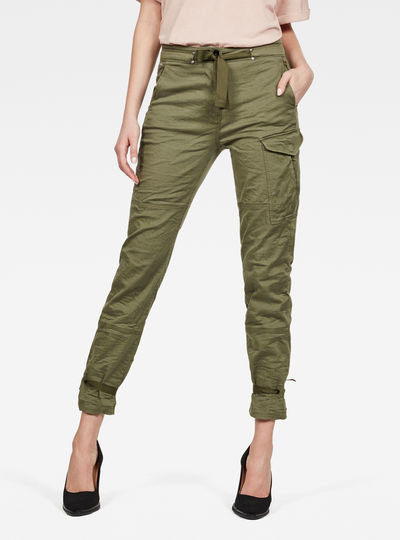 Blossite High Straight Cargo Broek