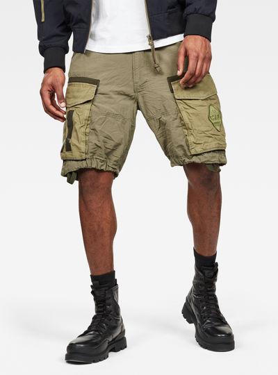 Rovic Badge Relaxed Shorts
