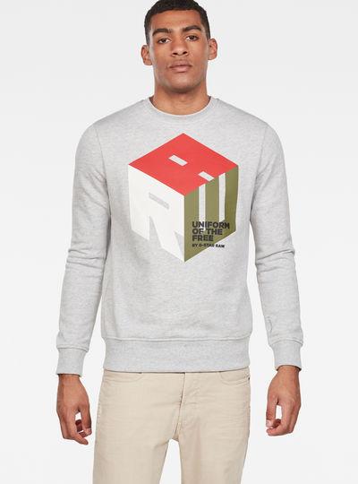 Graphic 6 Core Sweater