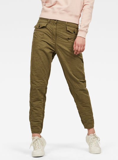 Army Radar Mid Boyfriend Trousers