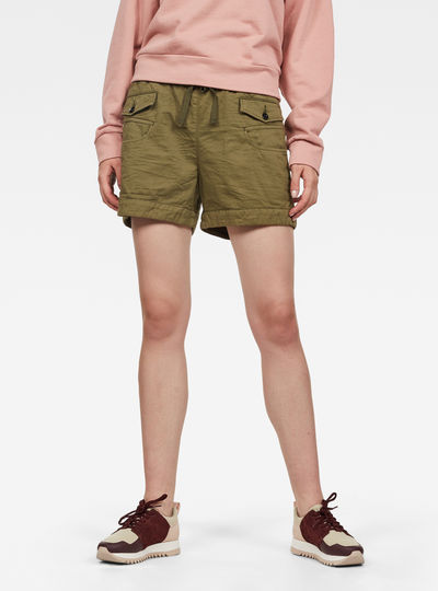 Army Radar Mid Boyfriend Shorts