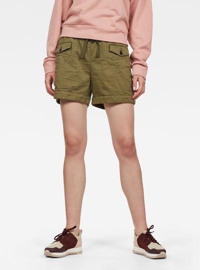 Army Radar Mid Boyfriend Shorts