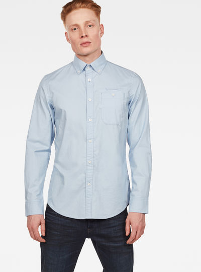 Bristum Button Down Pocket Slim Shirt