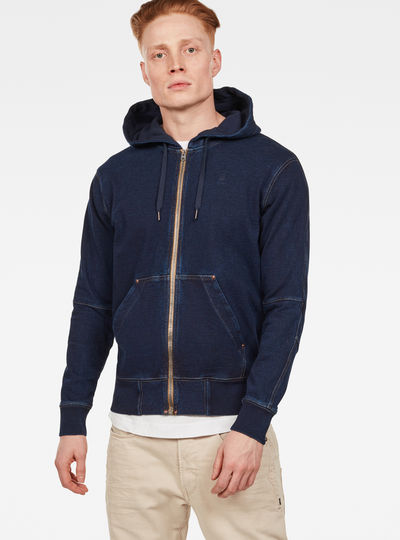 5621 Korpaz Hooded Zip Through Sweat