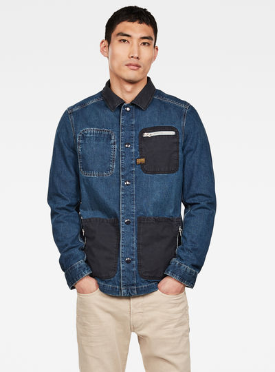 Blake Zip Overshirt
