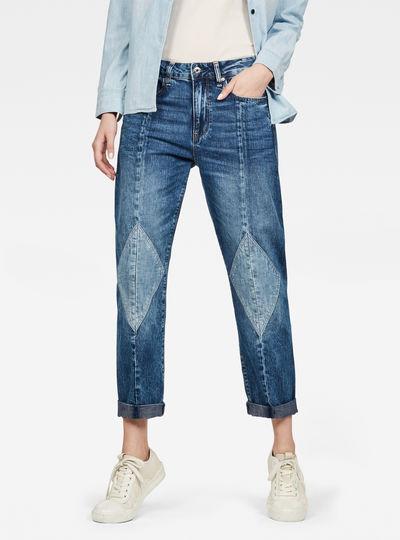 3301-L Mid Boyfriend Diamond Jeans