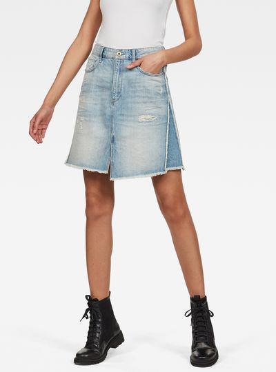 3301 Fringe Skirt