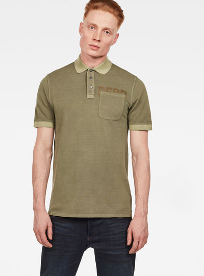 Graphic 3 Pocket Polo