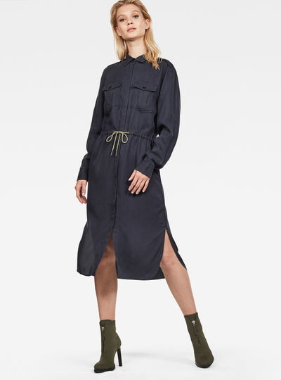 Rovic Maxi Shirt Dress