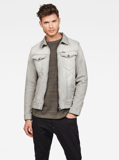 3301 Studs Strike Slim Jacket