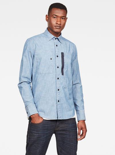MAXRAW II Powel Chambray Slim Shirt