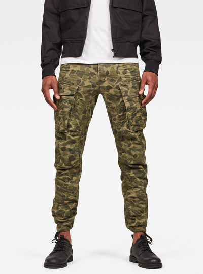 Rovic Qane 3D Tapered Pants