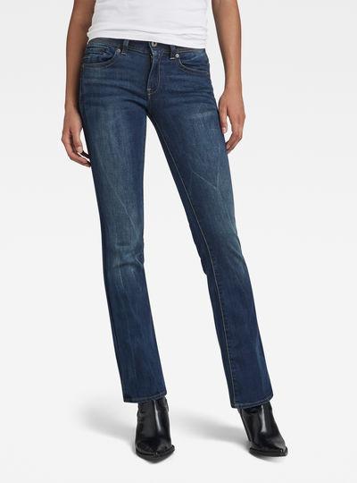 Midge Saddle Mid Bootcut Jeans