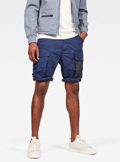 MAXRAW II Rovic Zip Relaxed Short