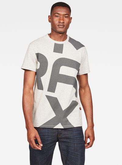 MAXRAW II Panel Graphic T-shirt