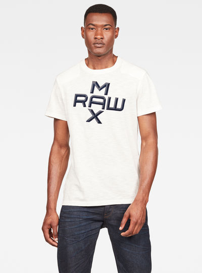 MAXRAW II Utility Graphic T-shirt