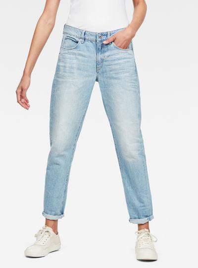 3301 Mid Waist Boyfriend Jeans
