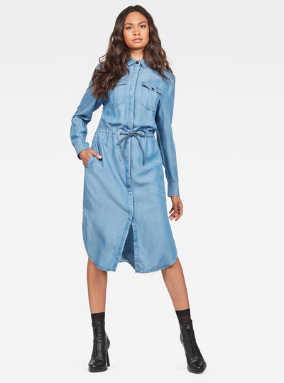 Rovic Maxi Shirt Kleid