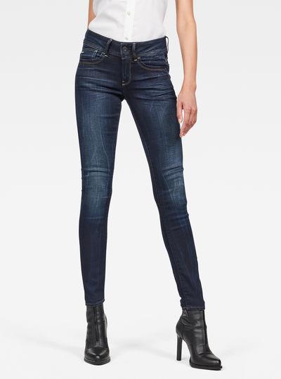 Lynn Mid Waist SkinnyJeans