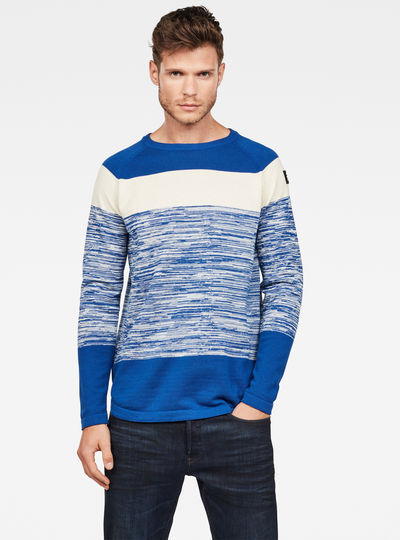 Core Straight Stripe Knit