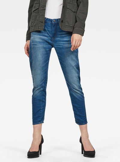 Arc 3D Low Waist Boyfriend 7/8 Jeans