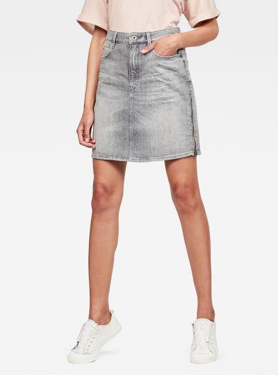 3301 Zip Skirt Jeans