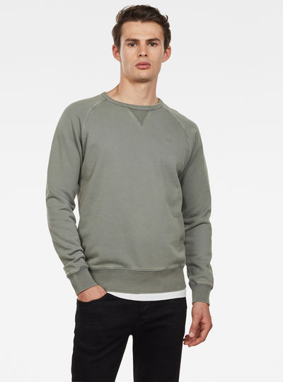 Earth Core Raglan Ronde Hals Sweater