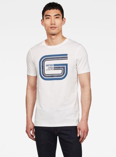 Graphic 9 Slim Ronde Hals T-Shirt