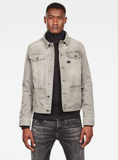 D-Staq Slim Jacke Earthtrace