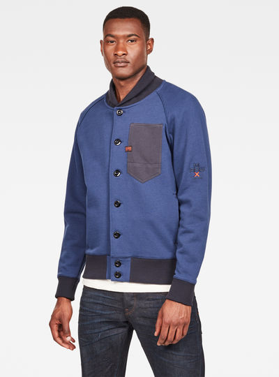 MAXRAW II Cardigan Sweat
