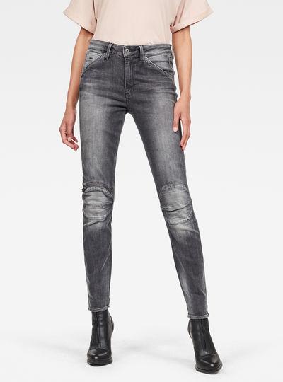Jean 5622 Knee Zip High Skinny