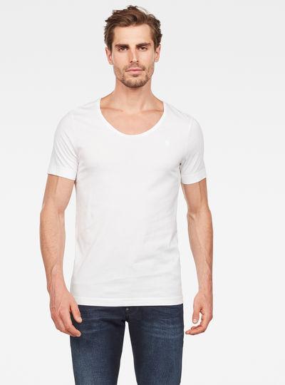 Alkyne Slim U-Neck T-Shirt