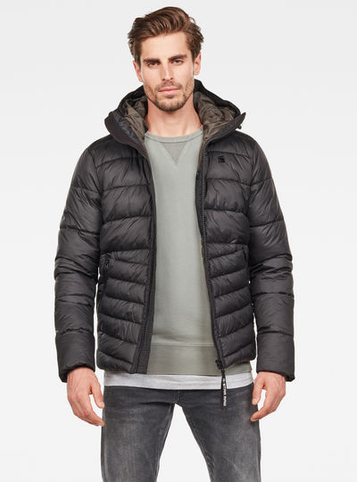 Motac Quilted Hooded Jacke