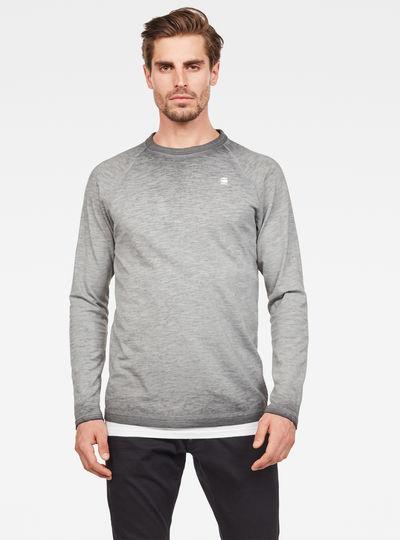 T-shirt Valtoras Overdyed Raglan