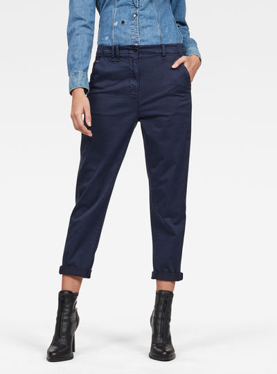 Page Mid Boyfriend Ankle Chinohose