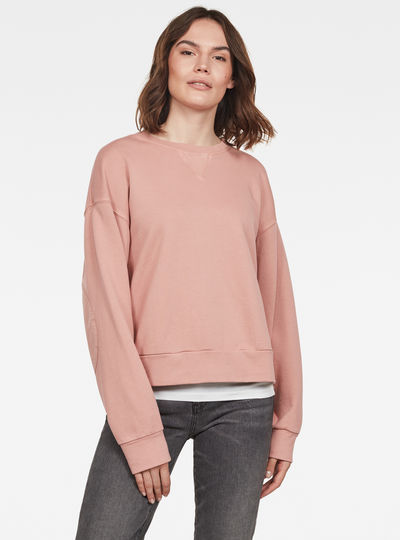Earth Loose Round Neck Sweatshirt