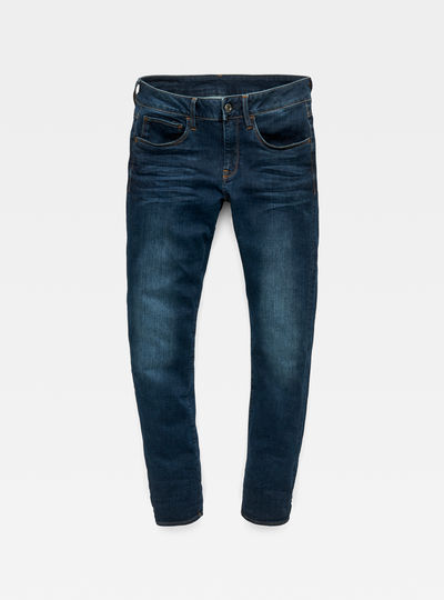 3301 Mid Waist Straight Jeans