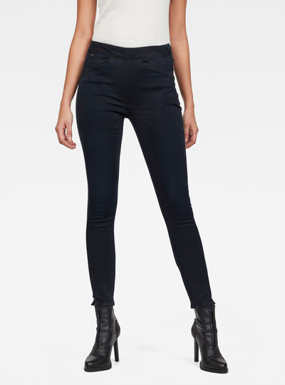 High Jegging Ankle Jeans