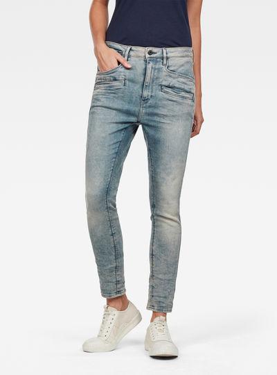 Dadin 3D Low Waist Boyfriend Jeans