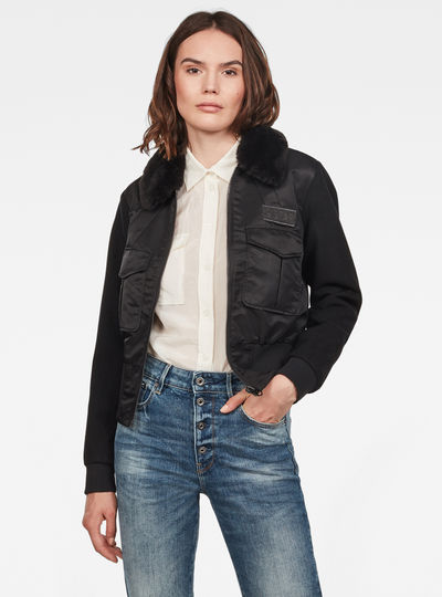 Rovic Aviator Bomber Jacket