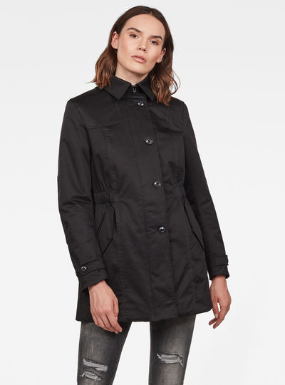 Minor Hunting Padded Slim Trench Jacket