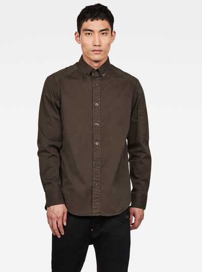 Chemise Stalt Button Down Pocket Straight