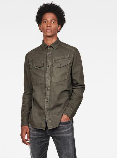 Army Straight Shirt