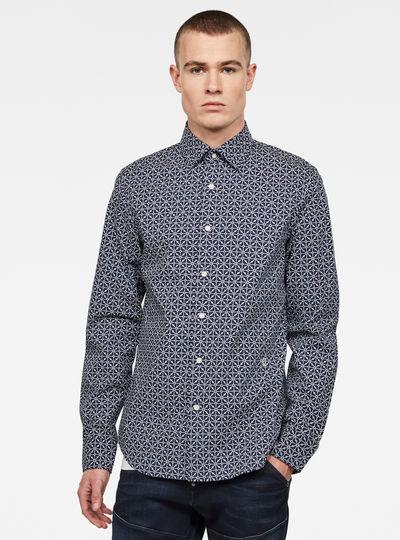 Core super slim shirt l\s