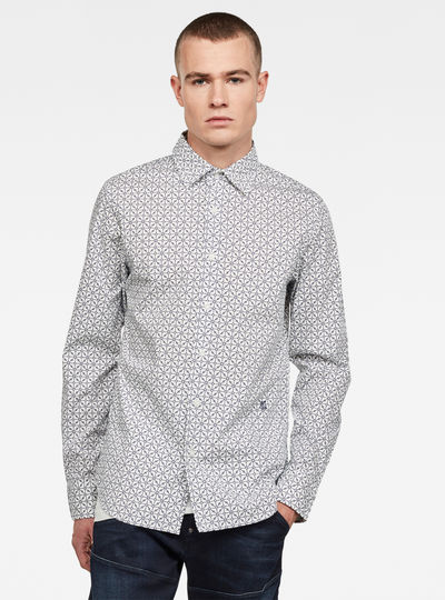 Core super slim shirt l\s