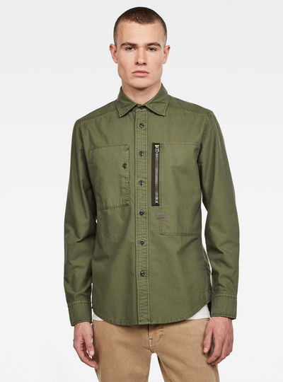 Powel slim shirt l\s