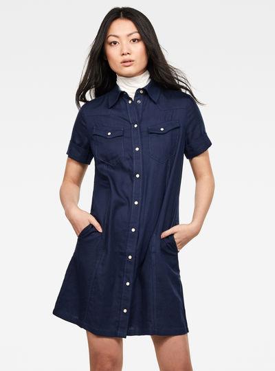 Tacoma slim dress s\s