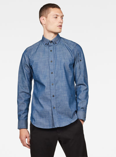 Stalt Pocket Slim Shirt