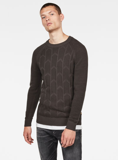 Sweat Suzaki Biker Knitted